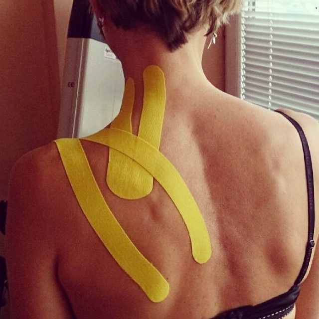 how to cut kinesio tape for shoulder