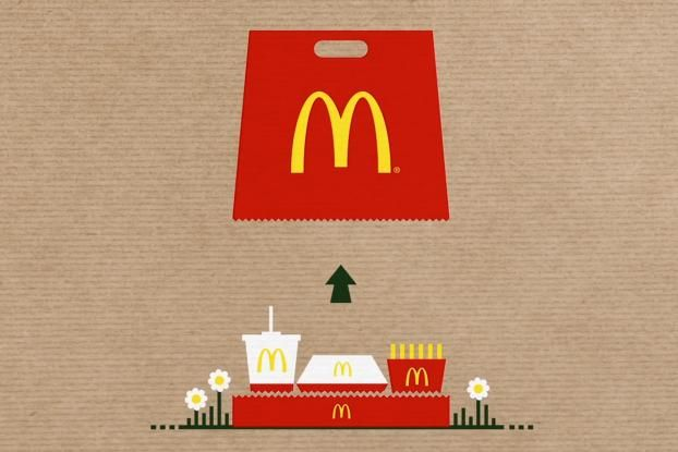 McDonald's Takeout Bag Undergoes an Amazing Transformation - Print (video) - Creativity Online
