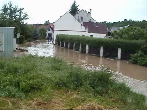 záplavy Uherské Hradiště-Sady 2.6 2010-Olšava