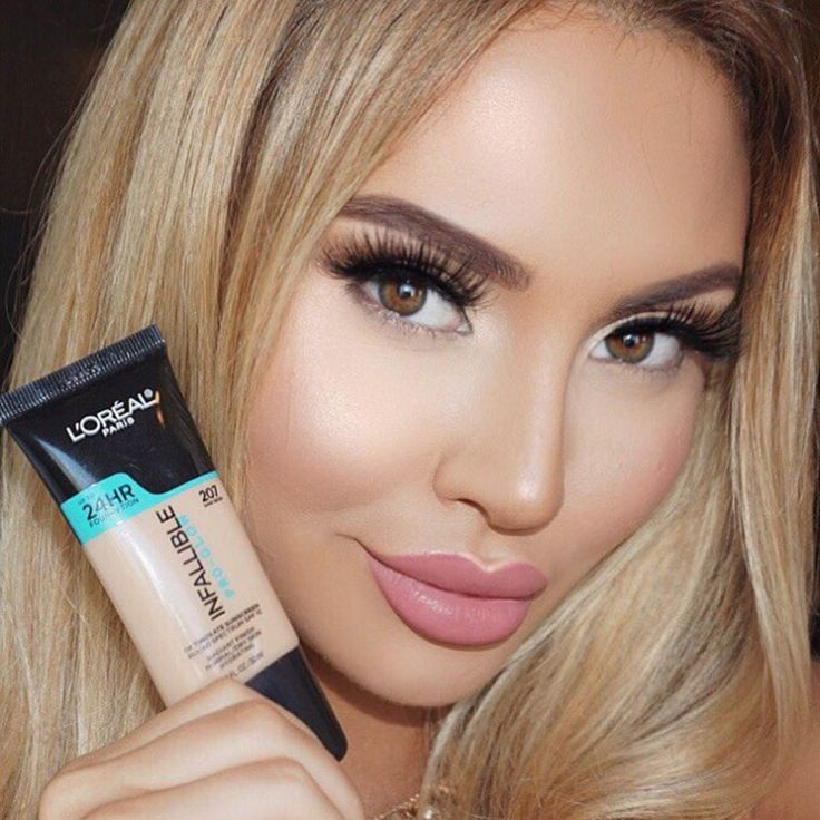 Jadey Wadey of the L'Oreal League glows in new Infallible Pro-Glow Foundation. A medium coverage formula with a glowy, hydrating finish that lasts.