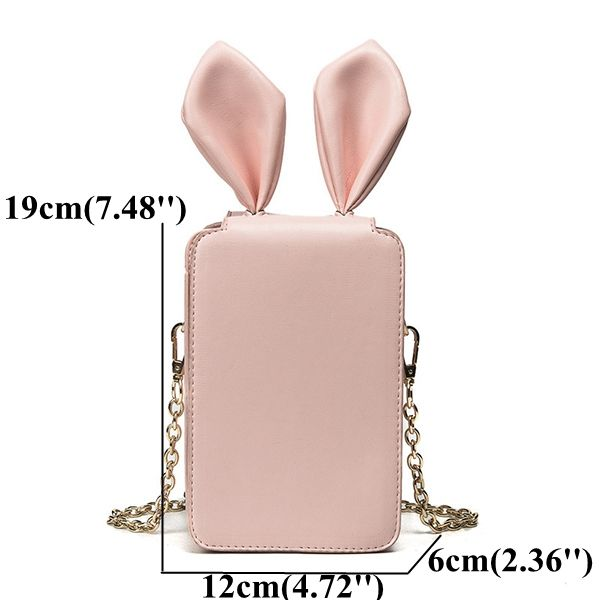 Hot-sale designer Cartoon Rabbit Ears Phone Bag Shoulder Bag Crossbody Bag Online - NewChic