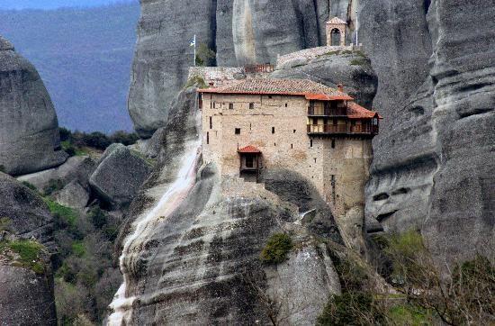 Meterora Monastery in Greece