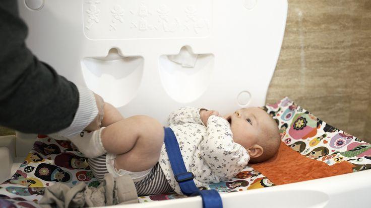 #Przewijak dla niemowląt | #dziecko #higiena #łazienka #przewijaki