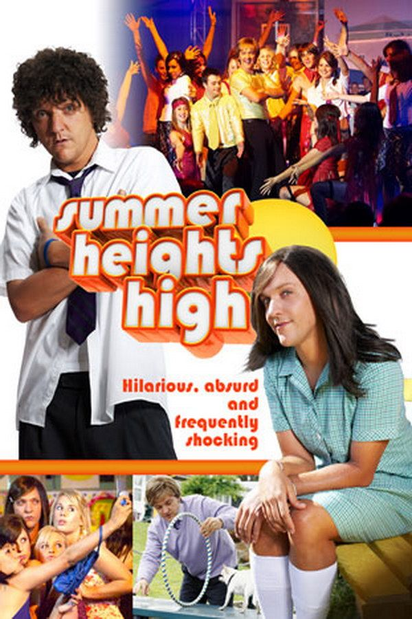 Summer Heights High Font