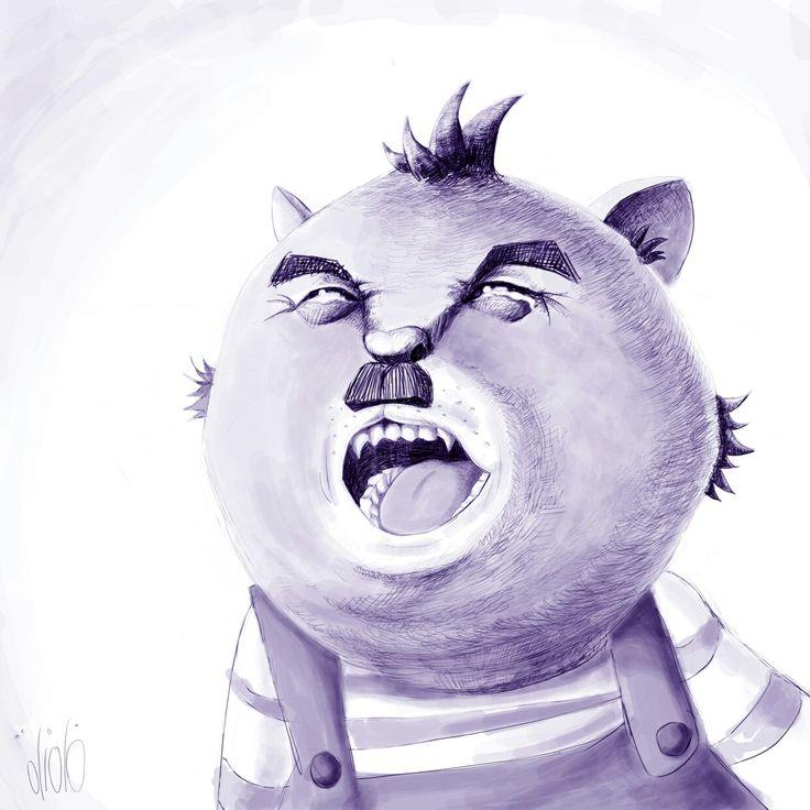 #crying cat #illustration #characterdesign #conceptart
