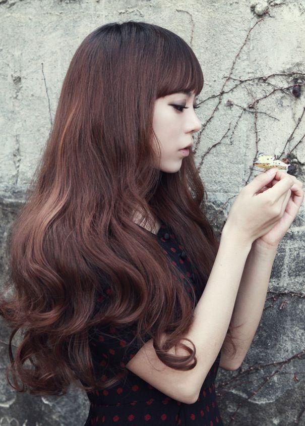 ulzzang barbie hair looks like a wig