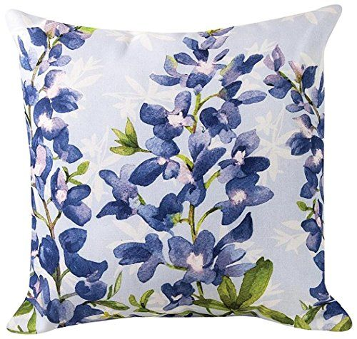 Pillows Blue Bonnets Pillow 18 Square Flower Pillo Https Www Amazon Com Dp B00kjnwu56 Ref Cm Sw Outdoor Pillows Blue Bonnets Indoor Outdoor Pillows