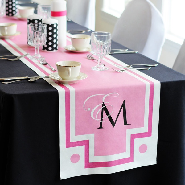 Personalized Wedding Decoration For Reception Table Fashioned With An Ideal Blend Of Contemporary Style And Superb