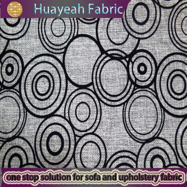 curtain fabrics,sofa fabrics,upholstery fabrics manufacturer  circle pattern flocking modern upholstery sofa fabric - curtain fabrics,sofa fabrics,upholstery fabrics manufacturer
