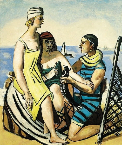 "Weimar: Max Beckmann's Journey on the Fish ""The Small Fish"" (1933)"