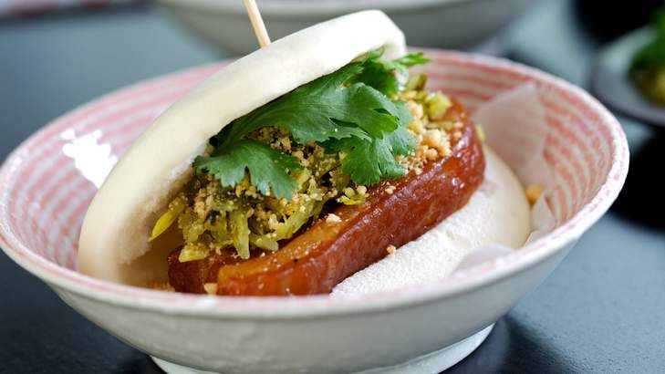 From dumplings and pork buns to top notch coffee, if you're hitting the shops in Sydney's Chatswood, here are some great places refuel: http://www.goodfood.com.au/good-food/eat-street/a-foodies-guide-to-chatswoods-victoria-avenue-20141003-10orly.html