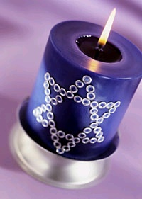 Chanukka Candle