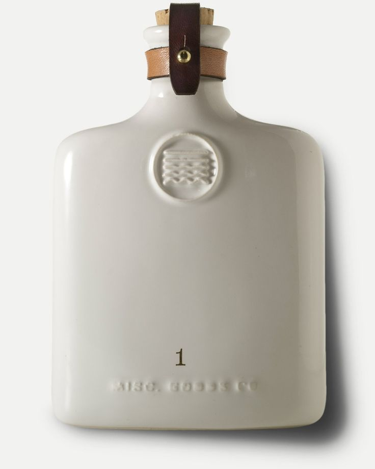 Ceramic Flask by Misc. Goods Co.