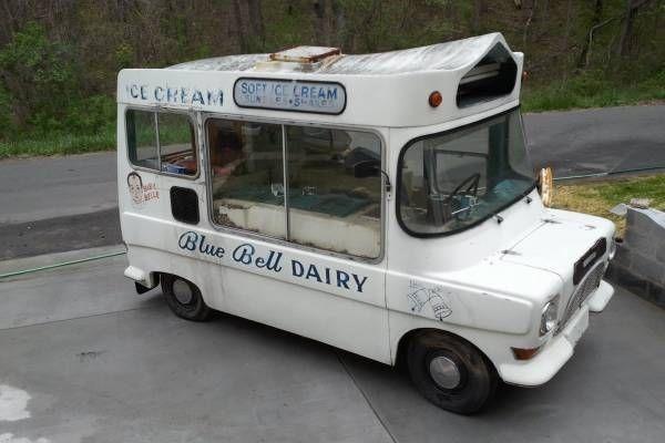 1971 Whitby Morrison: Ice Cream van