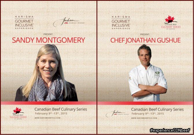 Canadian Beef Culinary Series February 2015 featuring Canadian Chef Jonathan Gushue #experienceCDNbeef