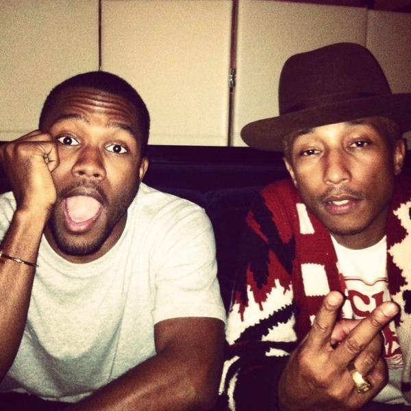 #Pharrell x #FrankOcean :