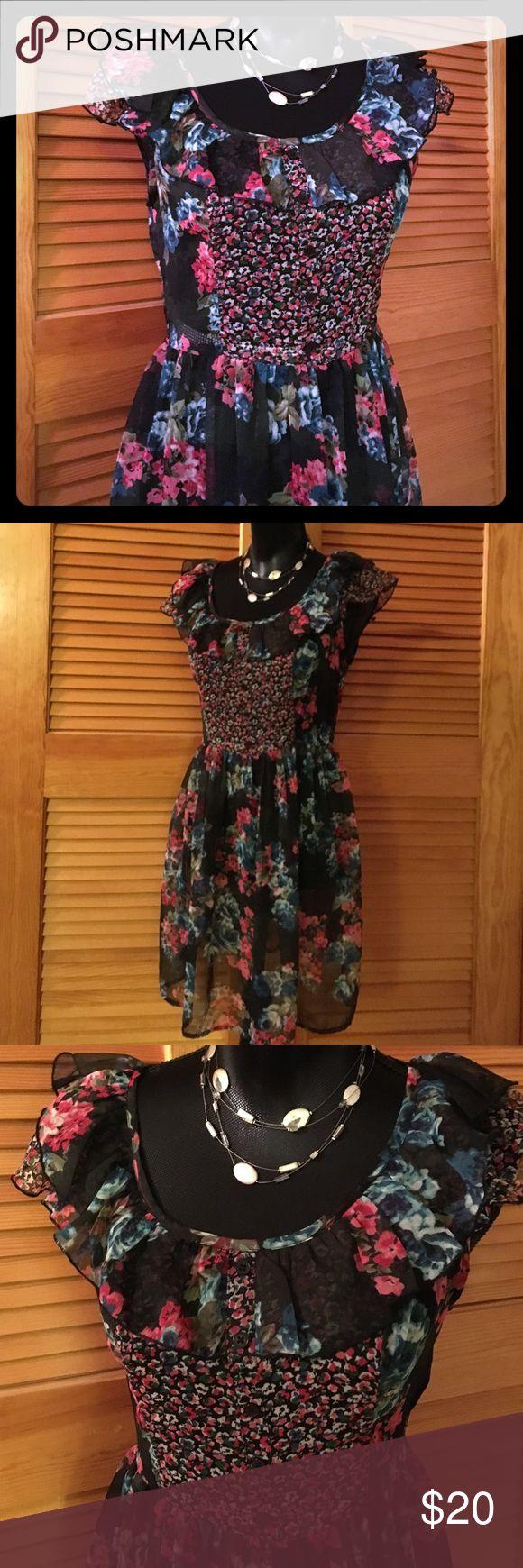 NWT American Rag Boho Dress Sz M Please feel free to ask questions... American Rag Dresses Mini
