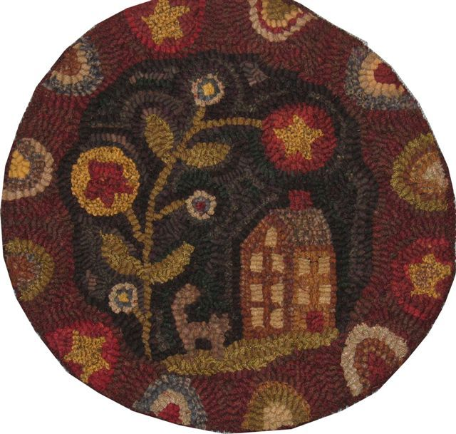 Charming Winterberry Cabin Carries A Large Selection Of Hand Dyed Woolens For Rug  Hooking And Wool Applique, Penny Rug Patterns And Kits, Rug Hooking  Patterns And .