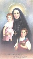 """Intercede for us today, St. Frances, Mother Cabrini, on your feast day. A Prayer for Peace of Mind - FORTIFY me with the grace of Your Holy Spirit and give Your peace to my soul that I may be free from all needless anxiety, solicitude and worry. Help me to desire always that which is pleasing and acceptable to You so that Your will may be my will."""" Waltzing Matilda: St. Frances Xavier Cabrini Coloring Page"""