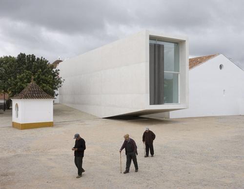 Centro de interpretación del mundo rural. Arraiolos. Cannatà & Fernandes Arquitectos