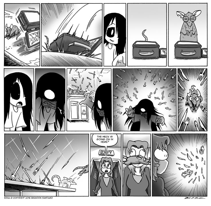 Erma :: Erma- The Rats in the School Walls Part 3 | Tapastic Comics - image 1