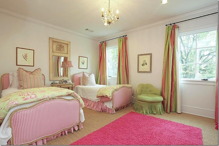 Girls bedroom from Cote de Texas