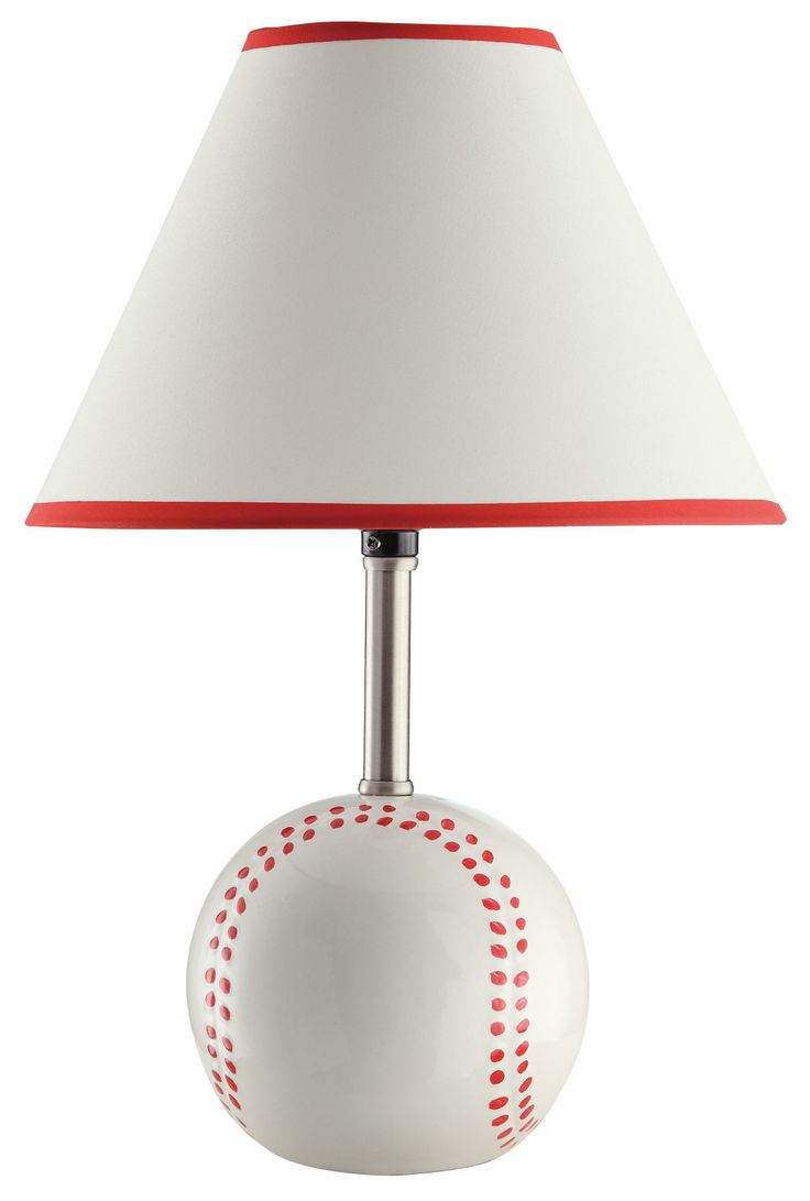 Table Lamps Baseball Table Lamp by Coaster