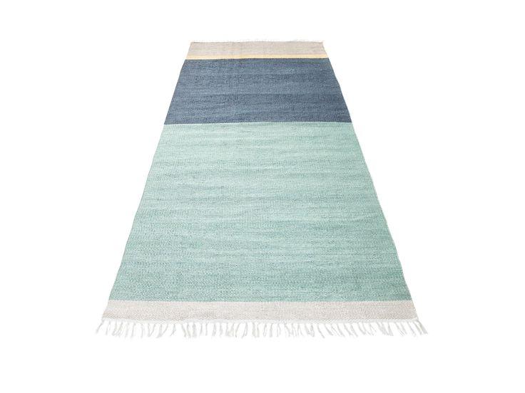 Azur Teppich 80x250 cm