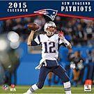 New England Patriots 2015 Wall Calendar