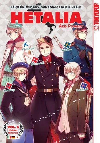 Sixth 'Hetalia Axis Powers' Manga Release Solicited