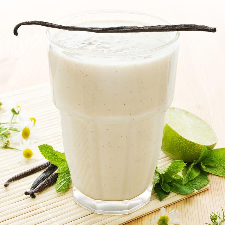 This vanilla milkshake recipe is a cool treat for a hot day.. Vanilla Milkshake Recipe from Grandmothers Kitchen.