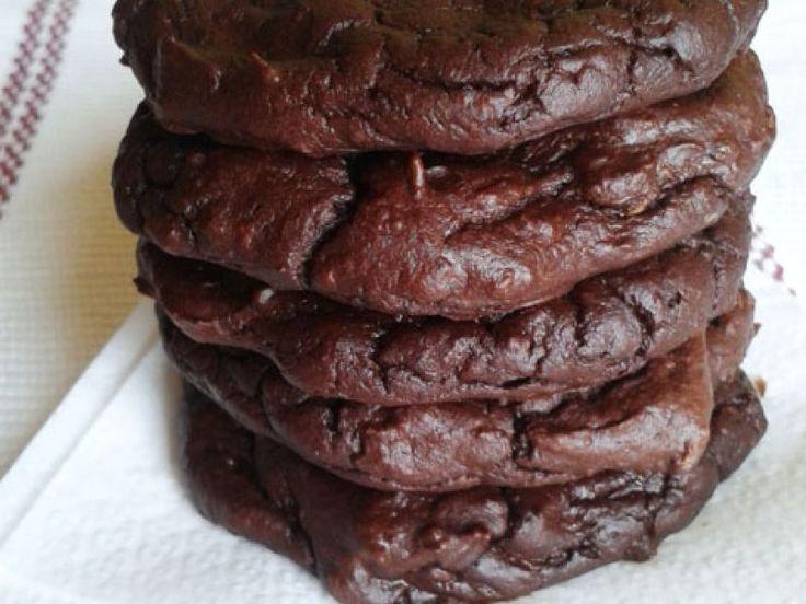 Avokádovo čokoládové koláčiky