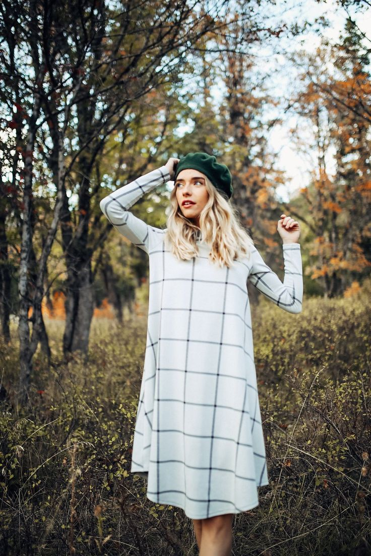 Piper & Scoot: The Amble Dress in Heather Grey $44