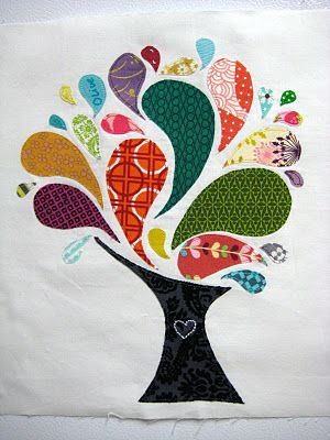 applique tree