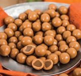 Pumpkin Spiced Caramels - one of the delicious products available from Dove Chocolate Discoveries!