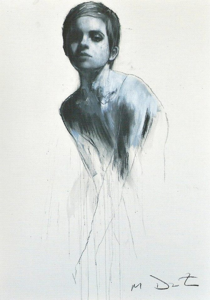 Mark Demsteader was born in Manchester in 1963 and still lives and works there. He studied at Rochdale college, Oldham art college and The Slade. His awards include The Public Eye Award, The Lyceum Prize and The Sidney Andrews Scholarship.  Mark's work has developed from a fascination with the human form and an obsession with classical themes.