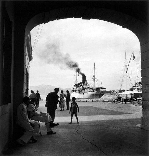 Corfu 1932, Willy Ronis.