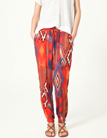 I smell a new trend for spring! Tenun #ikat