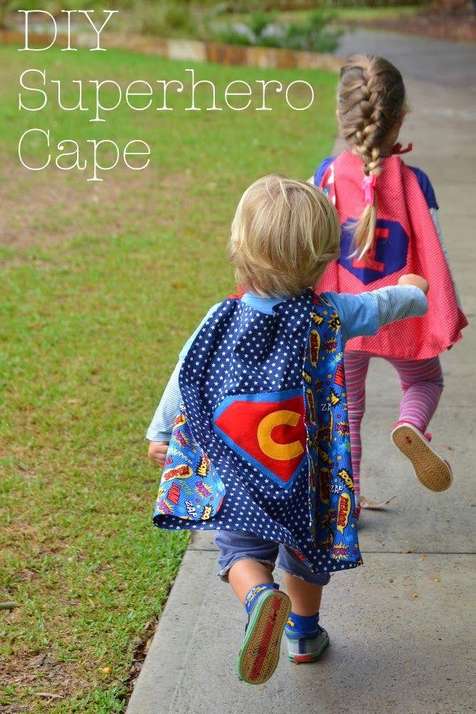 DIY Superhero Cape                                                       …