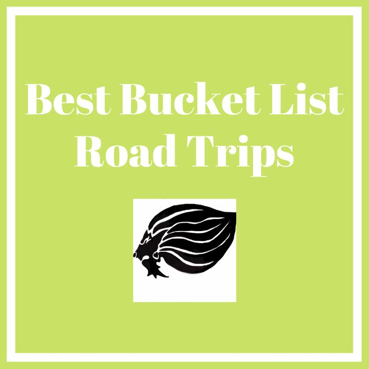 Best Road Trips for your Bucket List - cover