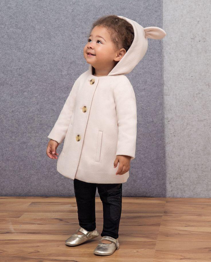 Baby Girl's Ridinghood Coat - Bardot Junior