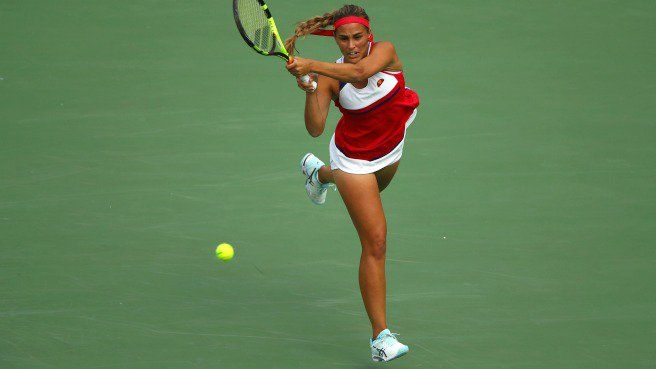 Monica Puig Wins Tennis Gold In Rio — And Looked Great Doing It [PHOTOS]