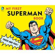 Walmart: My First Superman Book - favors for babies