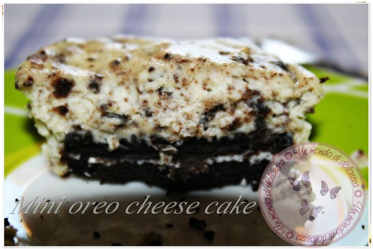 Mini oreo cheesecakes  Recipes: http://ildolcemondodipaoletta.forumfree.it/?t=66843697