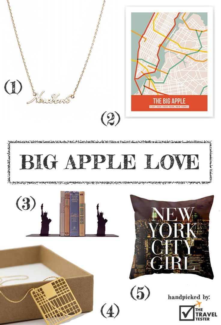 Shop around the world with the coolest New York Travel Must Haves | Handpicked by The Travel Tester: