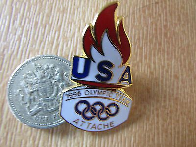 #Atlanta  olympic team usa  1996  attache original  flame #design #metal  pin bad,  View more on the LINK: http://www.zeppy.io/product/gb/2/191655323826/