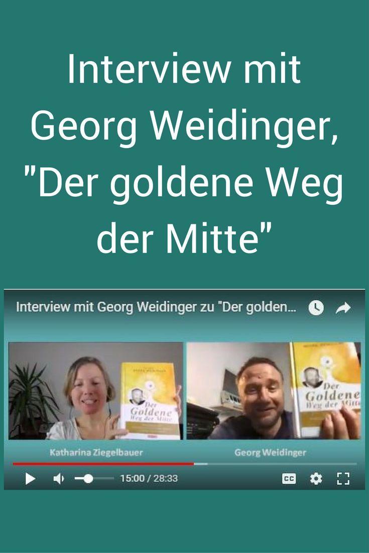 """TCM-Arzt und Autor Georg Weidinger zu seinem neuen Buch """"Der goldene Weg der Mitte"""" (Video). Viele Tipps zu #Gluten, #Autoimmunerkrankungen und Einblicke in seinen persönlichen Weg, um gesund zu bleiben. Prädikat wertvoll!"""