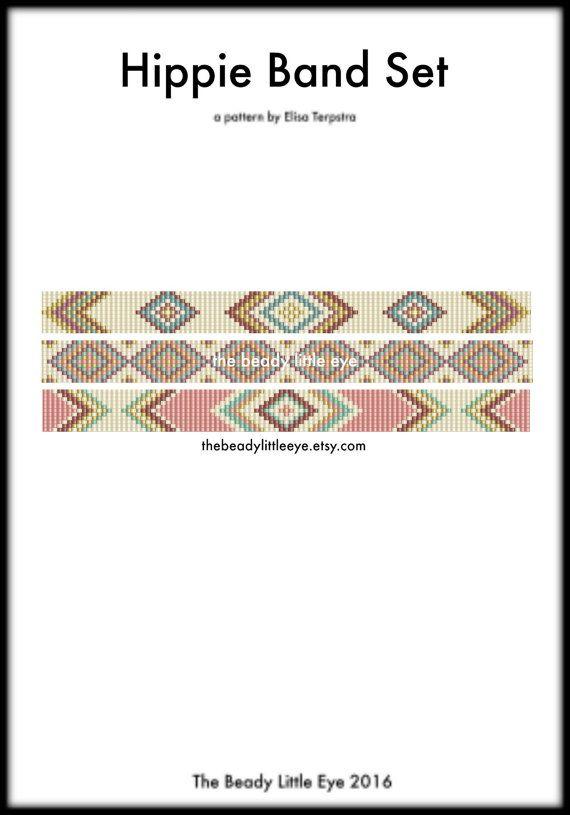 Bead Loom Patterns  Loom Tutorial  Beading par TheBeadyLittleEye