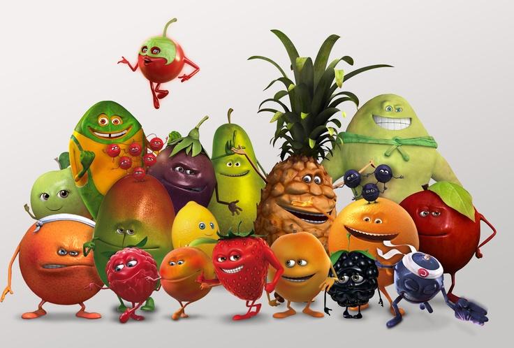 La Fruit Family au grand complet !