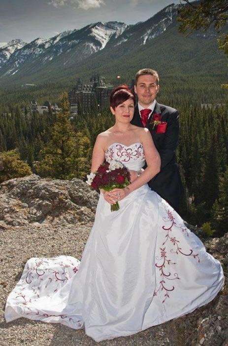An idyllic Banff wedding